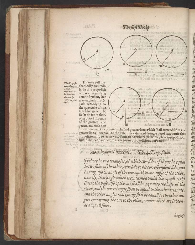 The elements of geometrie of the most auncient philosopher Evclide of Megara