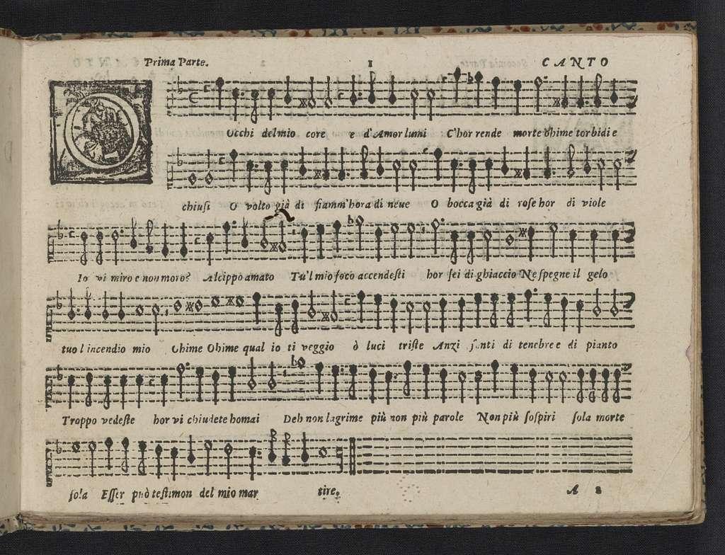 L' ottavo libro de madrigali a cinque voci