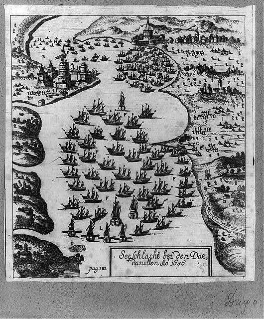 Seeschlacht bei den Dardanellen Ao. 1656