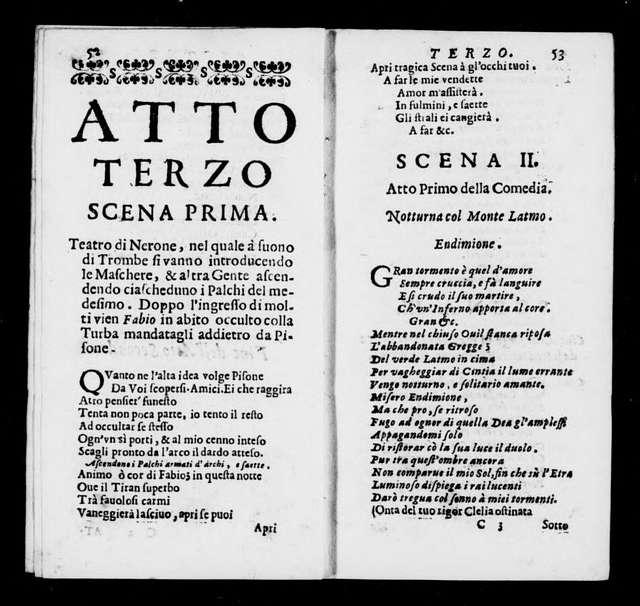 Nerone. Libretto. Italian