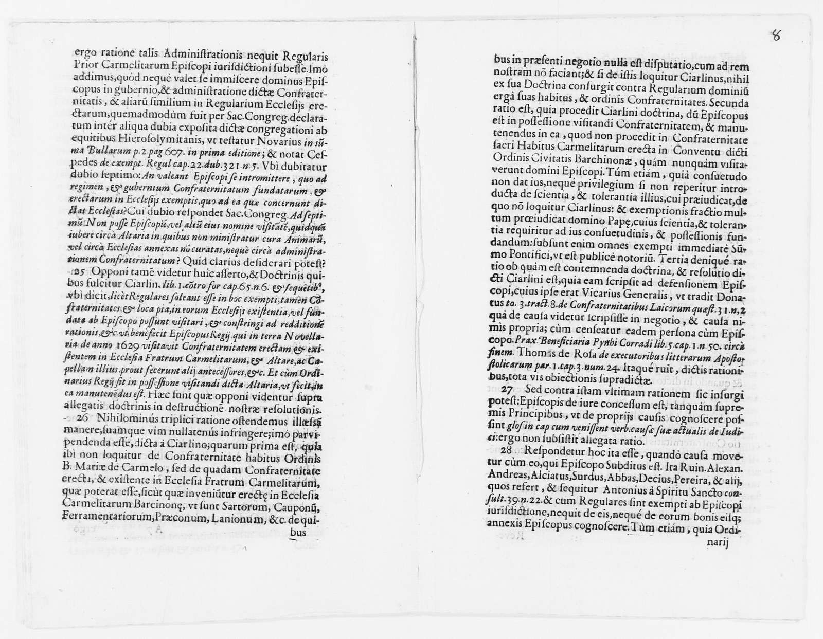 Brief on behalf the Brotherhood of Nuestra Señora del Carmen versus the Reverend Prior of the Monastery of El Carmen of the city of Barcelona, concerning certain offenses committed by the Sexton of said monastery against said brotherhood. Ca. 1687