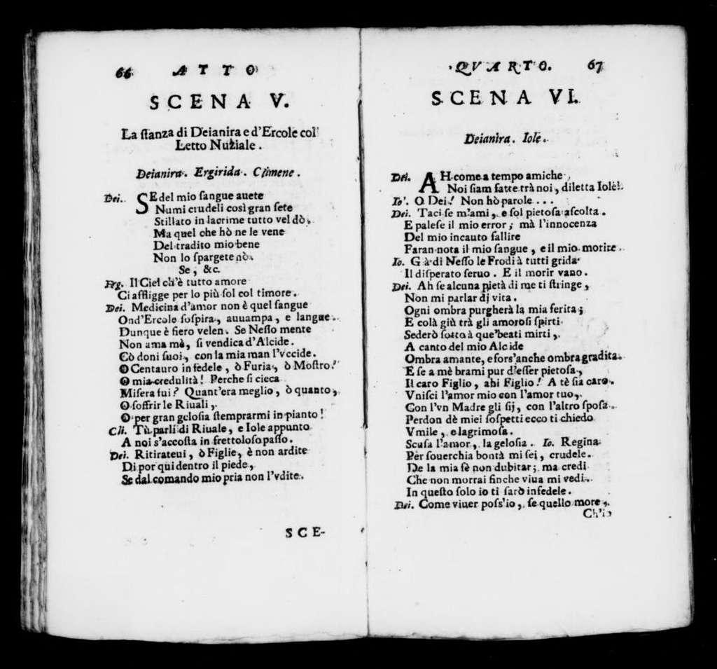 Ercole in cielo. Libretto. Libretto. Italian