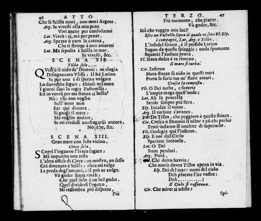 Circe delusa. Libretto. Libretto. Italian