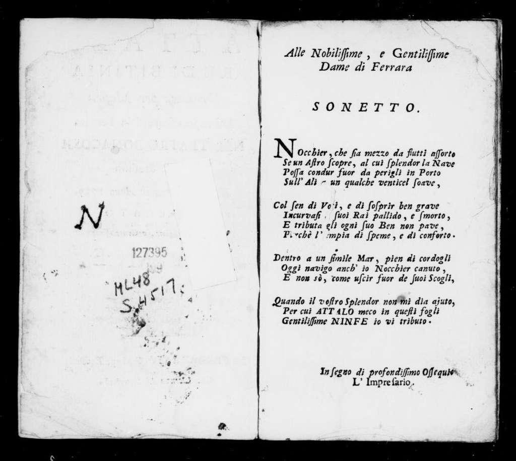 Attalo, re di Bitinia. Libretto. Italian