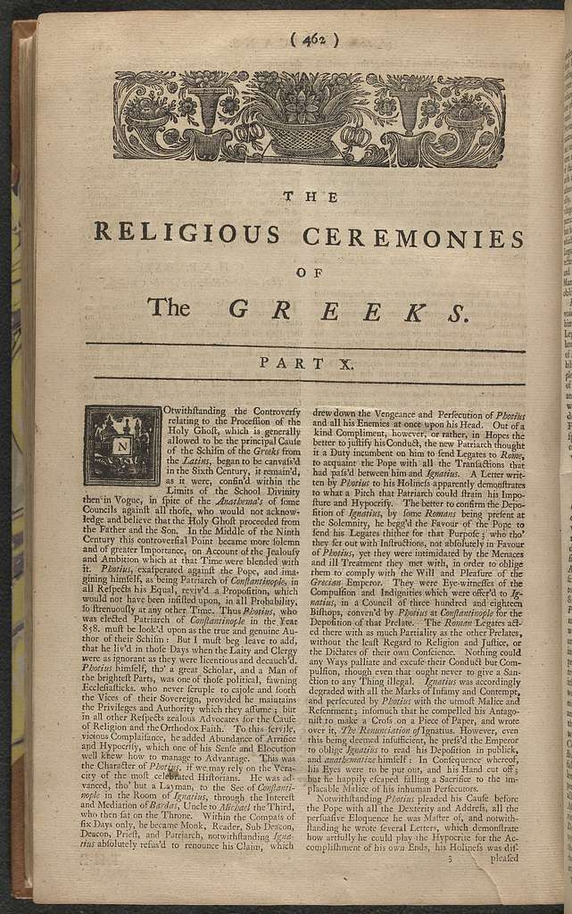 The Ceremonies and religious customs of the various nations of the known world; with additions and remarks omitted by the French author : whereby the reader will be informed (in a concise, clear, and intelligible style) of the customs and ceremonies ; in what manner, and under what forms, representations, signs, etc., the several nations under both hemisphers worship a supreme being