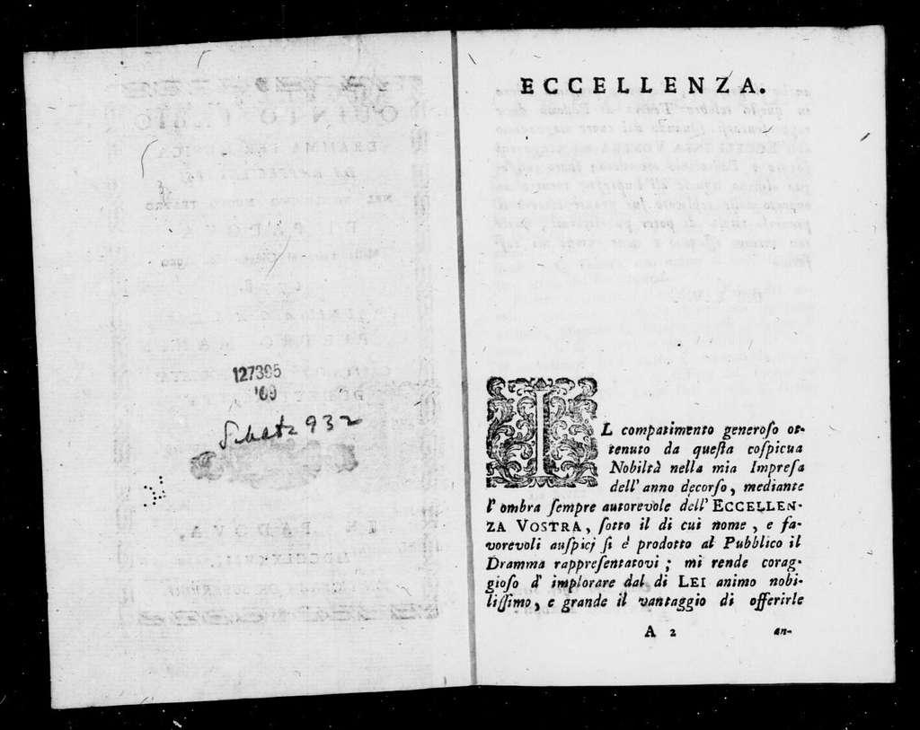 Divorzio favorevole all'amore (ballo). 1778