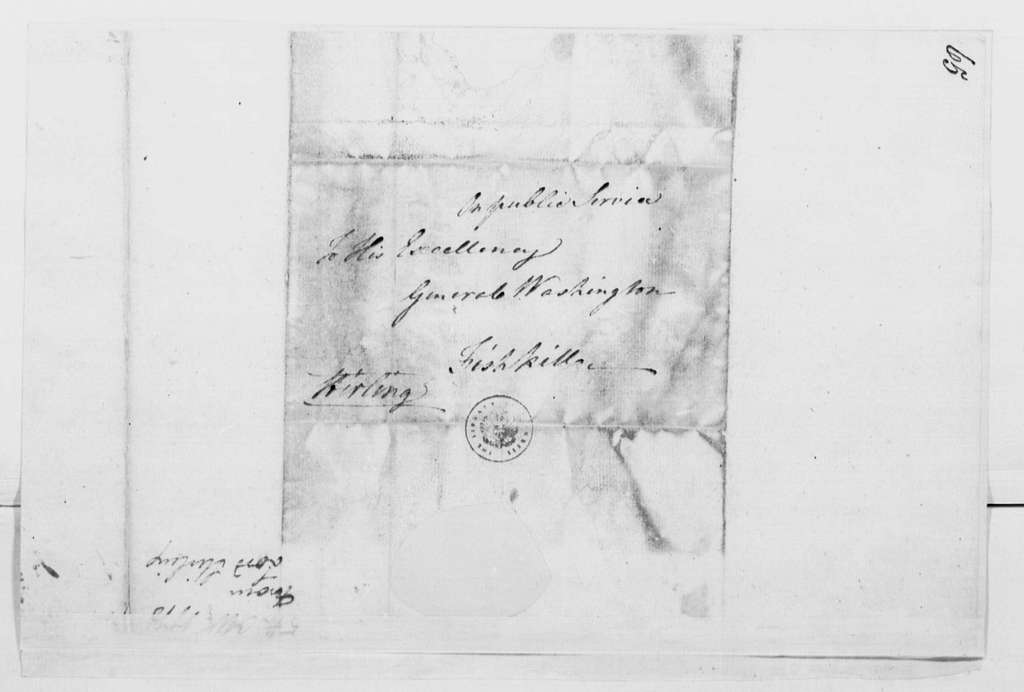 George Washington Papers, Series 4, General Correspondence: William Alexander, Lord Stirling to George Washington, October 5, 1778