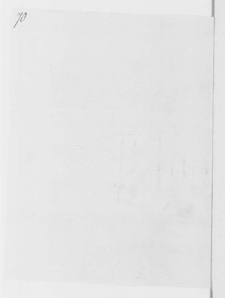 George Washington Papers, Series 4, General Correspondence: John Moylan to George Washington, March 19, 1782