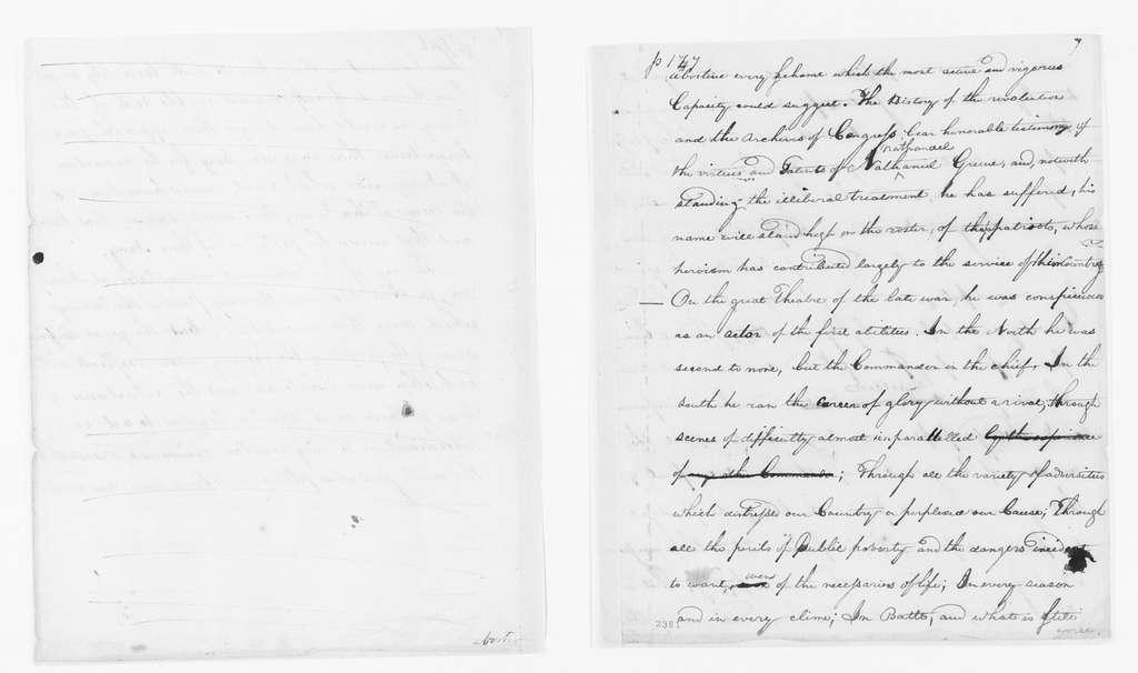 Alexander Hamilton Papers: General Correspondence, 1734-1804; 1792, Apr.-June