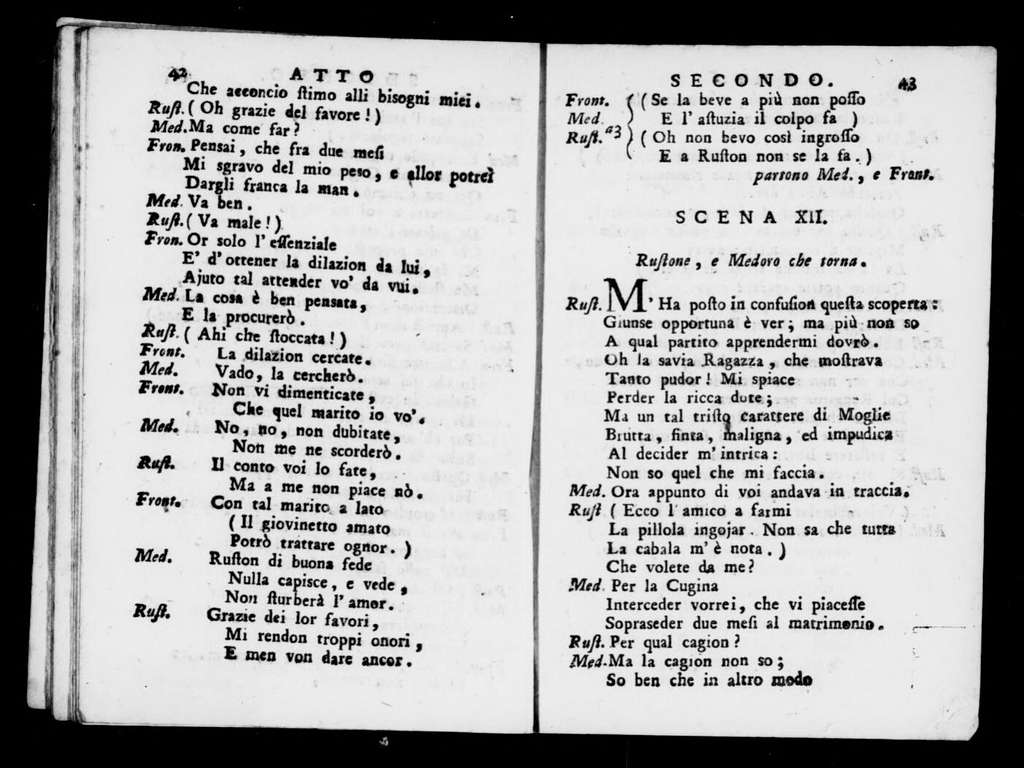 Calzolajo (ballo comico). 1798
