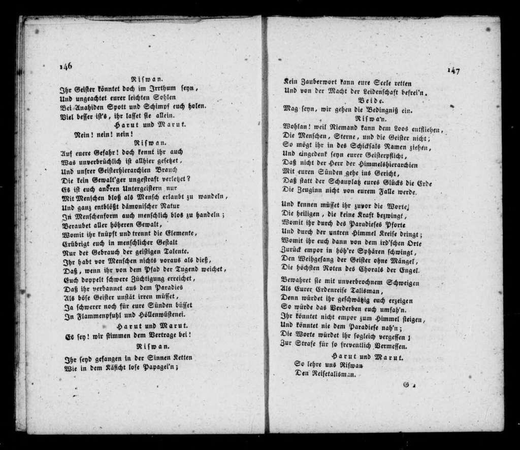 Anahid, oder Die Verklärung des Morgensternes ein persisches Singspiel in drei Aufzügen : an die Hochgeborne Frau Gräfinn Marie Potocka, geborne Gräfinn Rzewuska