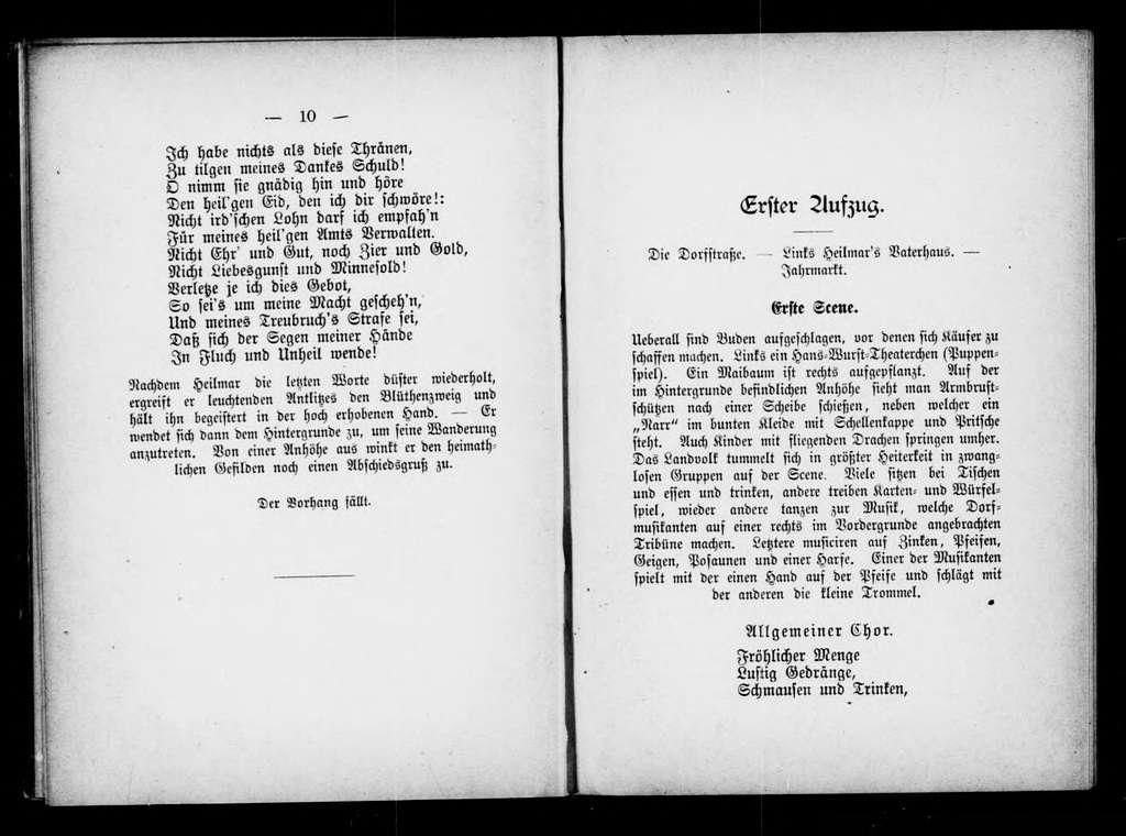 Heilmar der Narr. Libretto