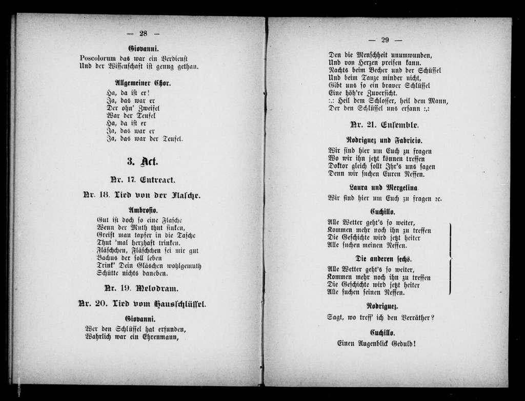 Pluto. Libretto. German