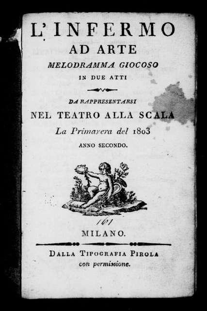 Marito volubile (ballo). 1803
