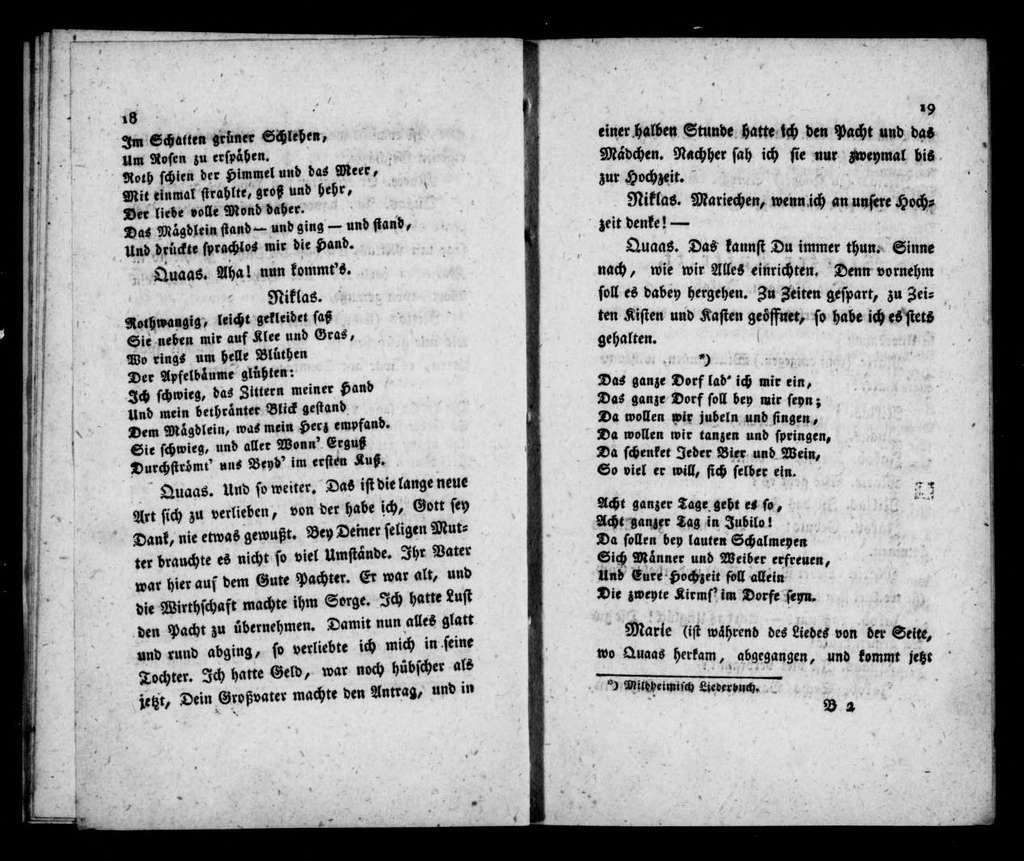Mitgefühl. Libretto. German