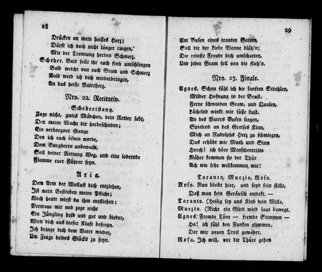 Schecheristani. Libretto. German
