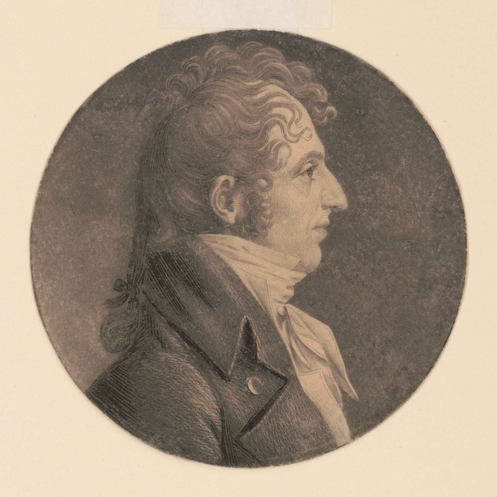 Edmund Wilcox Rootes, head-and-shoulders portrait, right profile
