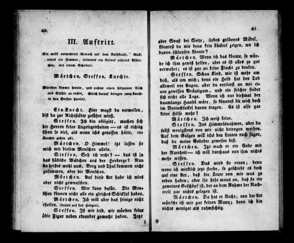 Eppo von Gailingen. Libretto. German