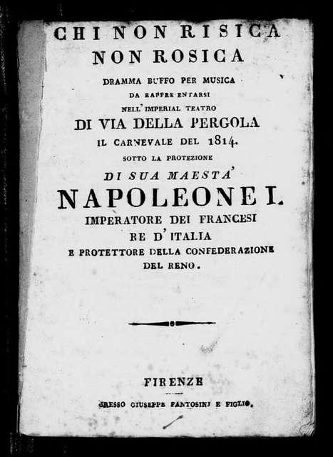 Morte di Cleopatra (ballo tragico). Scenario. Scenario. Italian. 1814