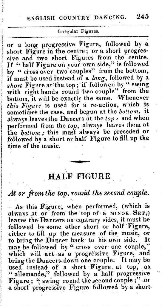 The complete system of English country dancing containing all the figures ever used in English country dancing, with a variety of new figures, and new reels