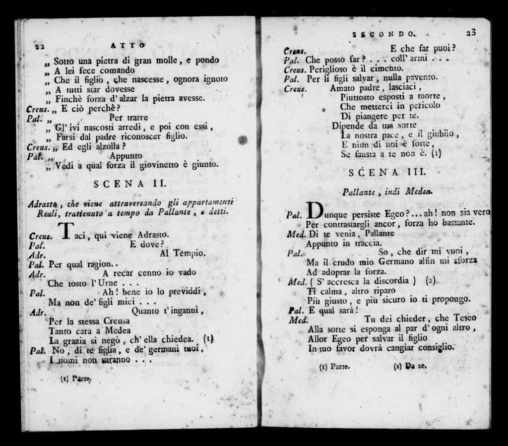 Finti spiriti. 1816