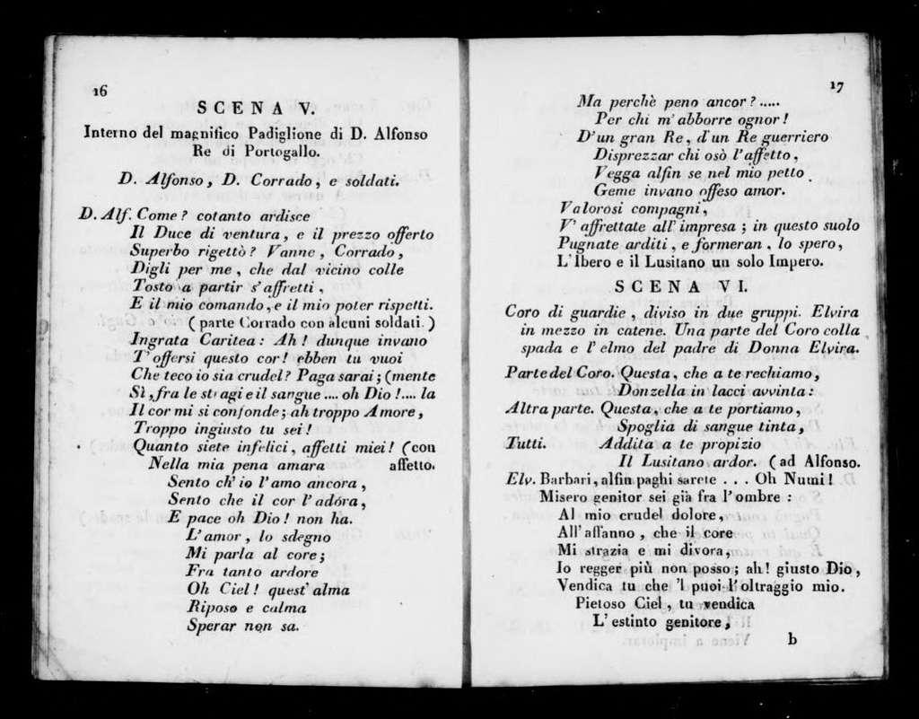 Adele principessa francese (ballo). Scenario. Scenario. Italian. 1818