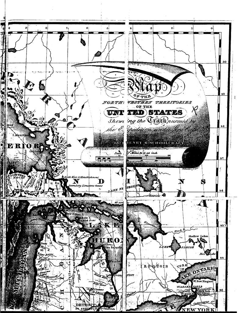Narrative journal of travels through the northwestern regions of the United States : extending from Detroit through the great chain of American lakes to the sources of the Mississippi River, performed as a member of the expedition under Governor Cass. In the year 1820