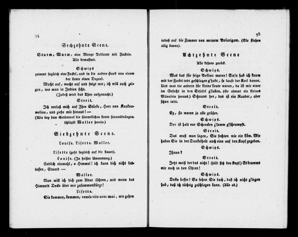 Tausendsasa. Libretto. Libretto. German