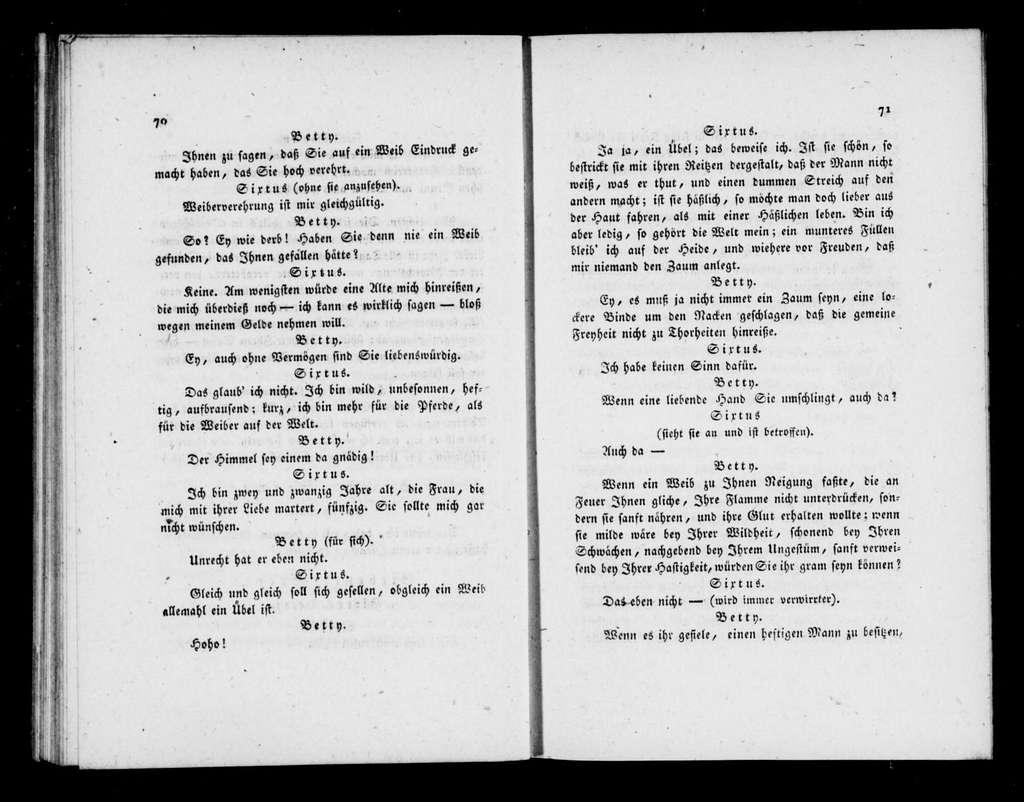 Natürliche Zauberei. Libretto. German