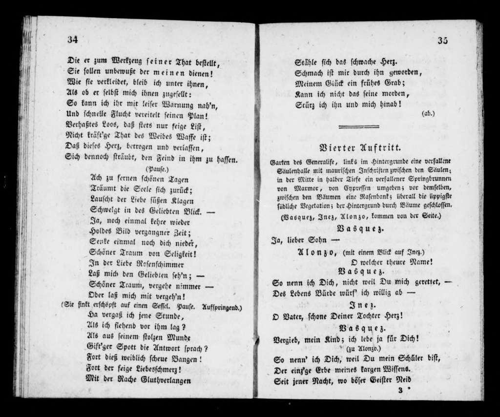 Alchymist. Libretto. German