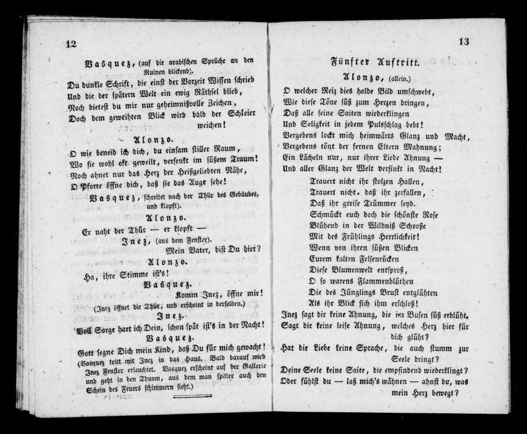 Alchymist. Libretto. German