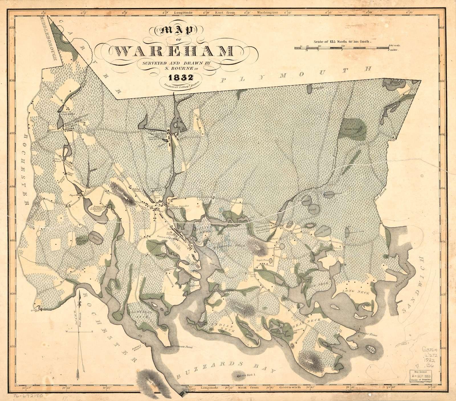 Map of Wareham