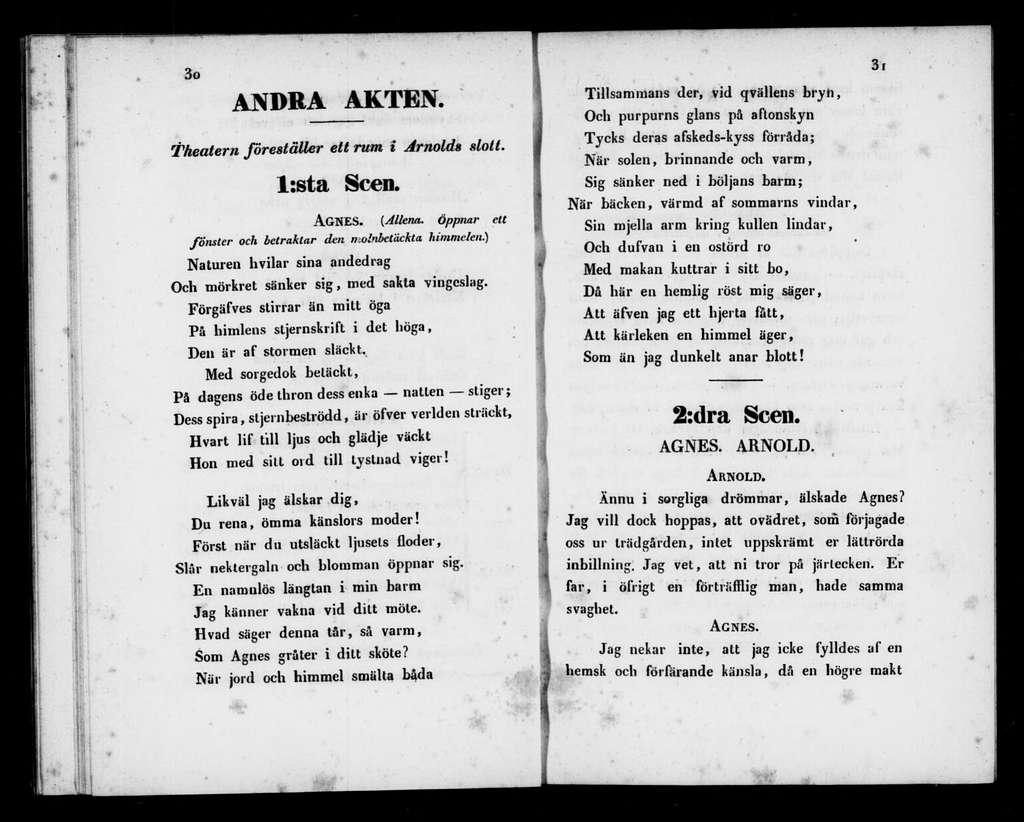 Ryno. Libretto. Swedish