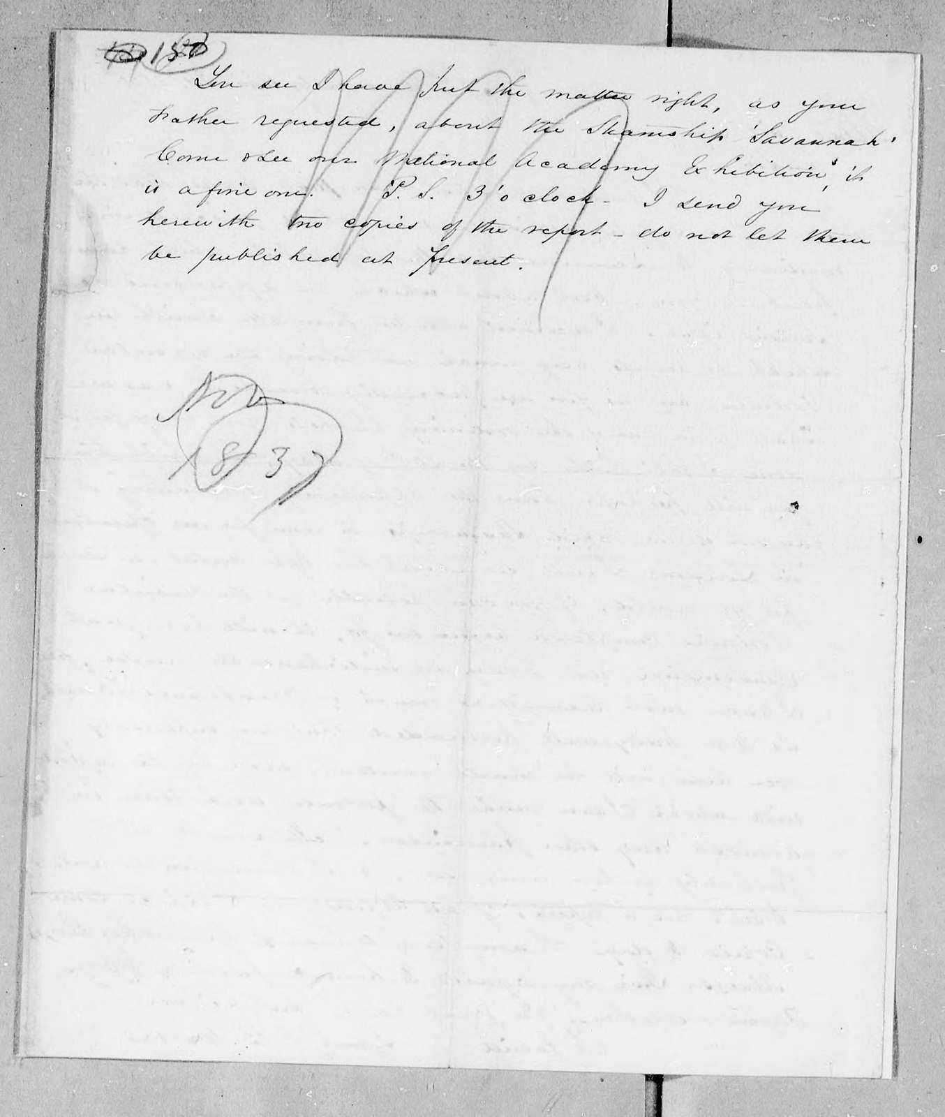 Bound volume---24 April 1838-16 November 1839