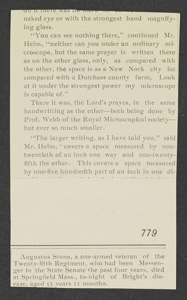 William Henry Harrison Papers: Series 4, Printed Matter, 1815-1922; Subseries C, Newspaper Clippings and Other Printed Matter, 1818-1922; Printed matter; Political songs, 1844 , 1896, undated
