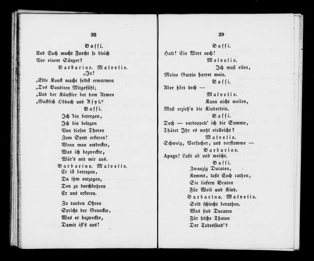 Alessandro Stradella. Libretto. German