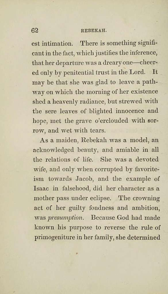 Historical and descriptive sketches of the women of the Bible, from Eve of the Old to the Marys of the New Testament,