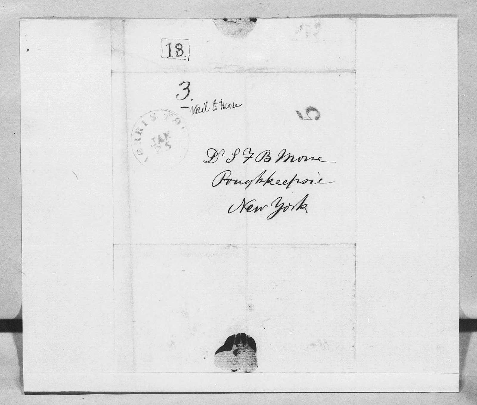 Bound volume---25 January 1851-15 April 1852