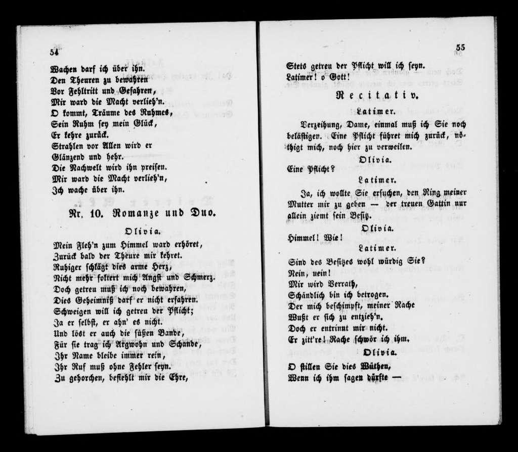 Songe d'une nuit d'été. Libretto. German
