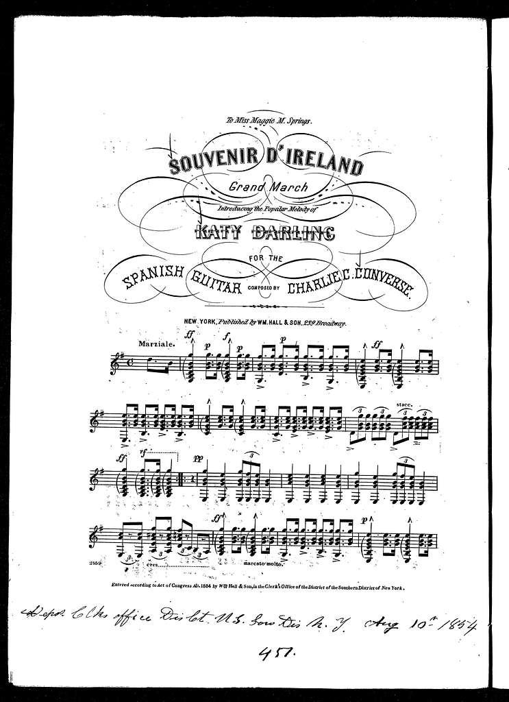 Souvenir d'Ireland grand march