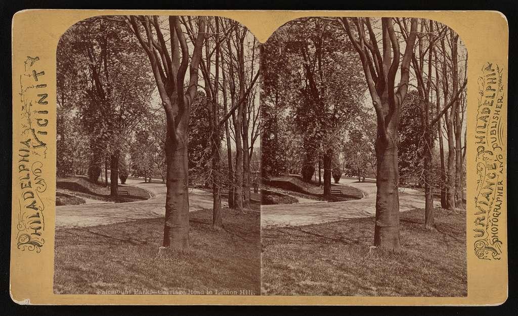 Fairmount Park--Carriage Road to Lemon Hill
