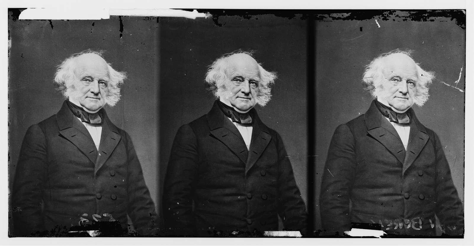 Martin Van Buren, ex-pres of U.S