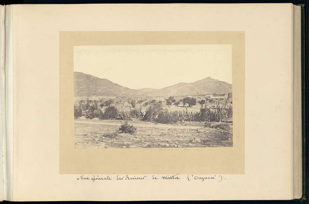 Ruines du Mexique et types mexicains