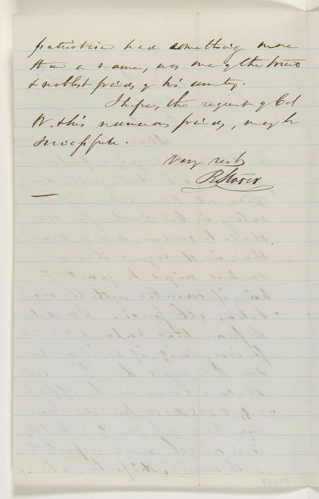 Abraham Lincoln papers: Series 1. General Correspondence. 1833-1916: Bellamy Storer to Abraham Lincoln, Monday, November 16, 1863 (New trial for Colonel Thomas Worthington)