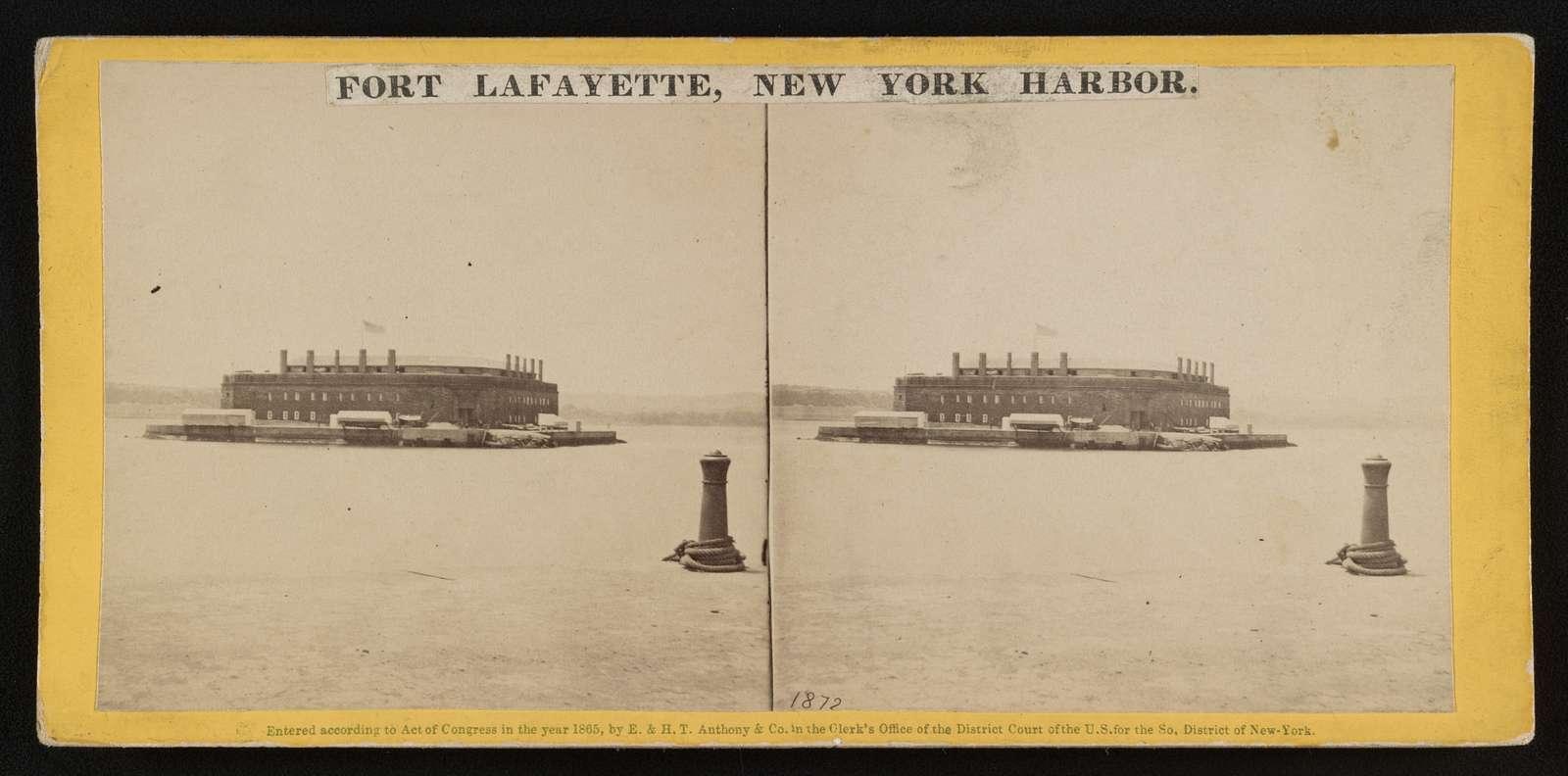 Fort Lafayette, New York Harbor
