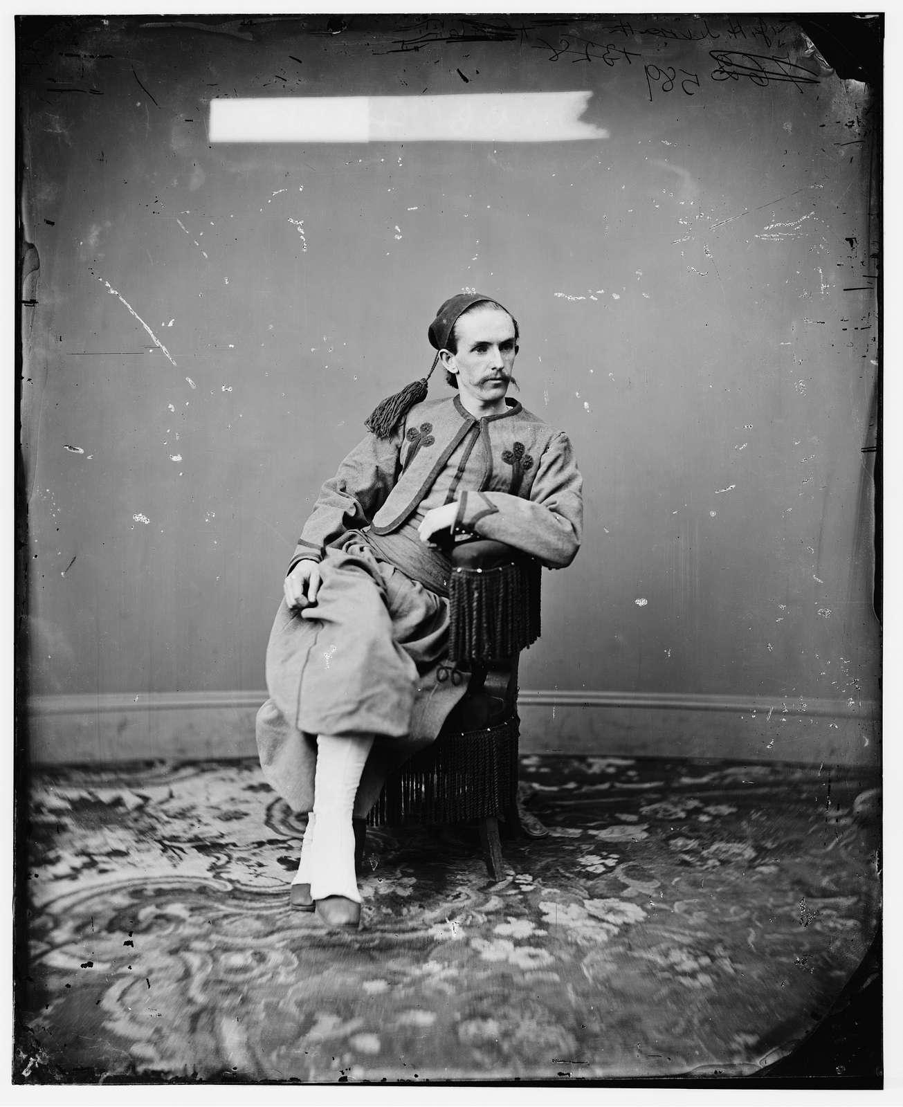 Surratt, John A. son of Mrs. Mary Surratt, one of Lincoln conspirators