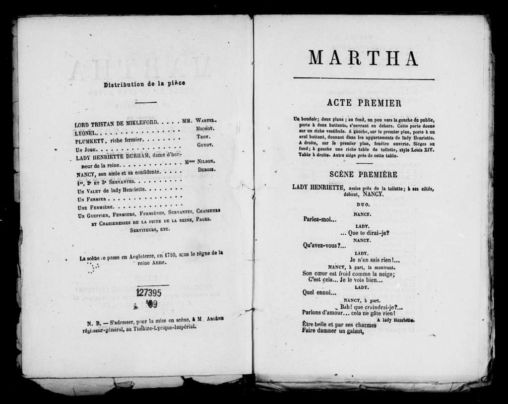 Martha. French