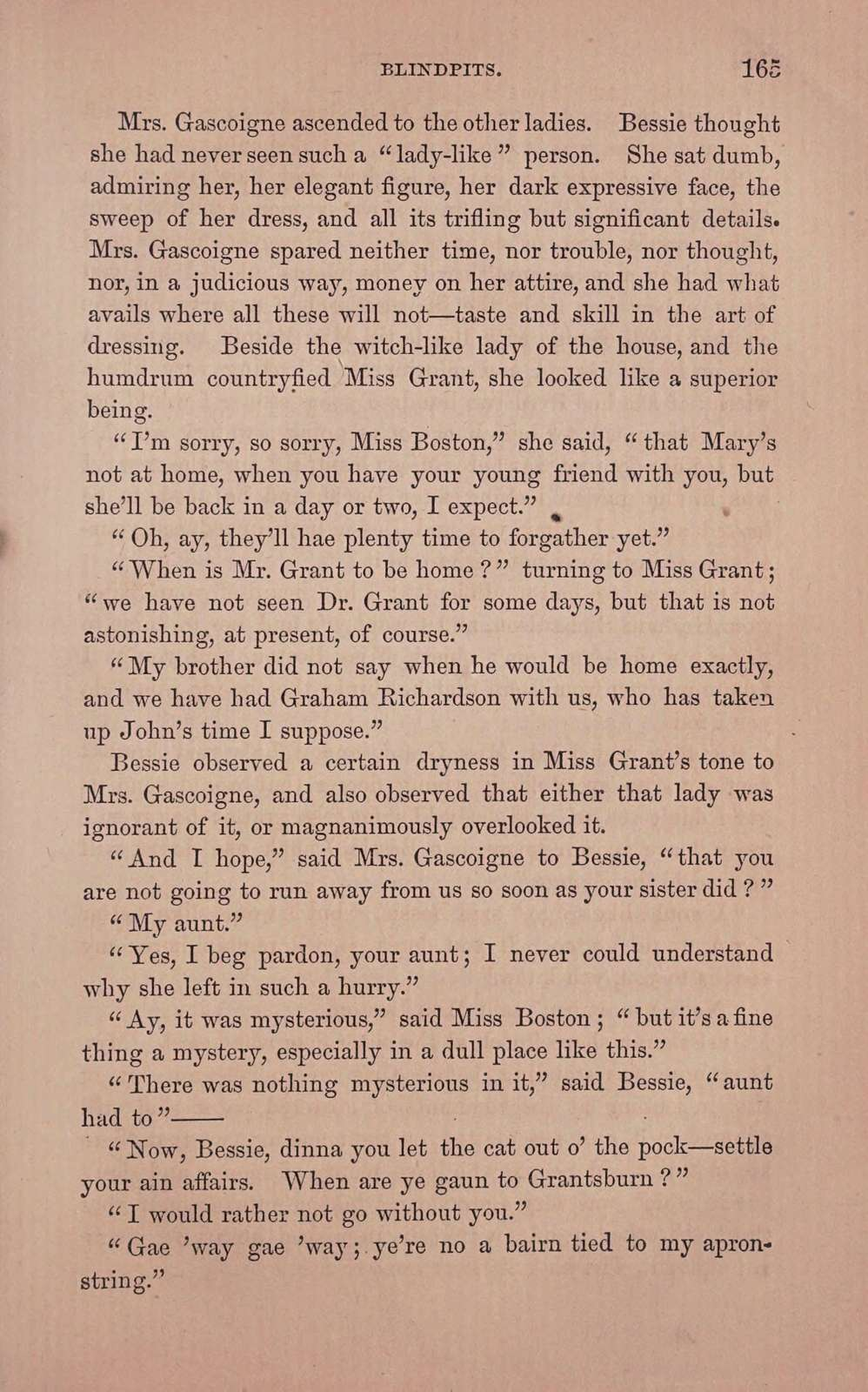 Blindpits. A story of Scottish life