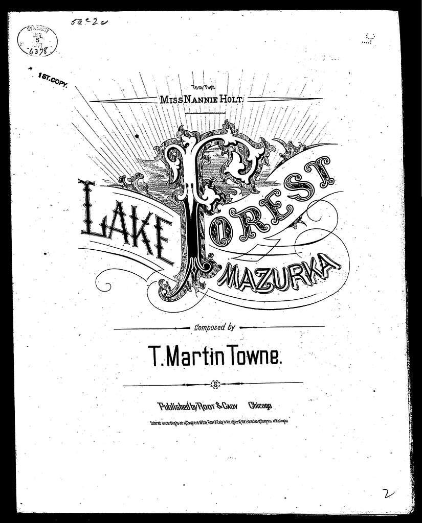 Lake Forest mazurka