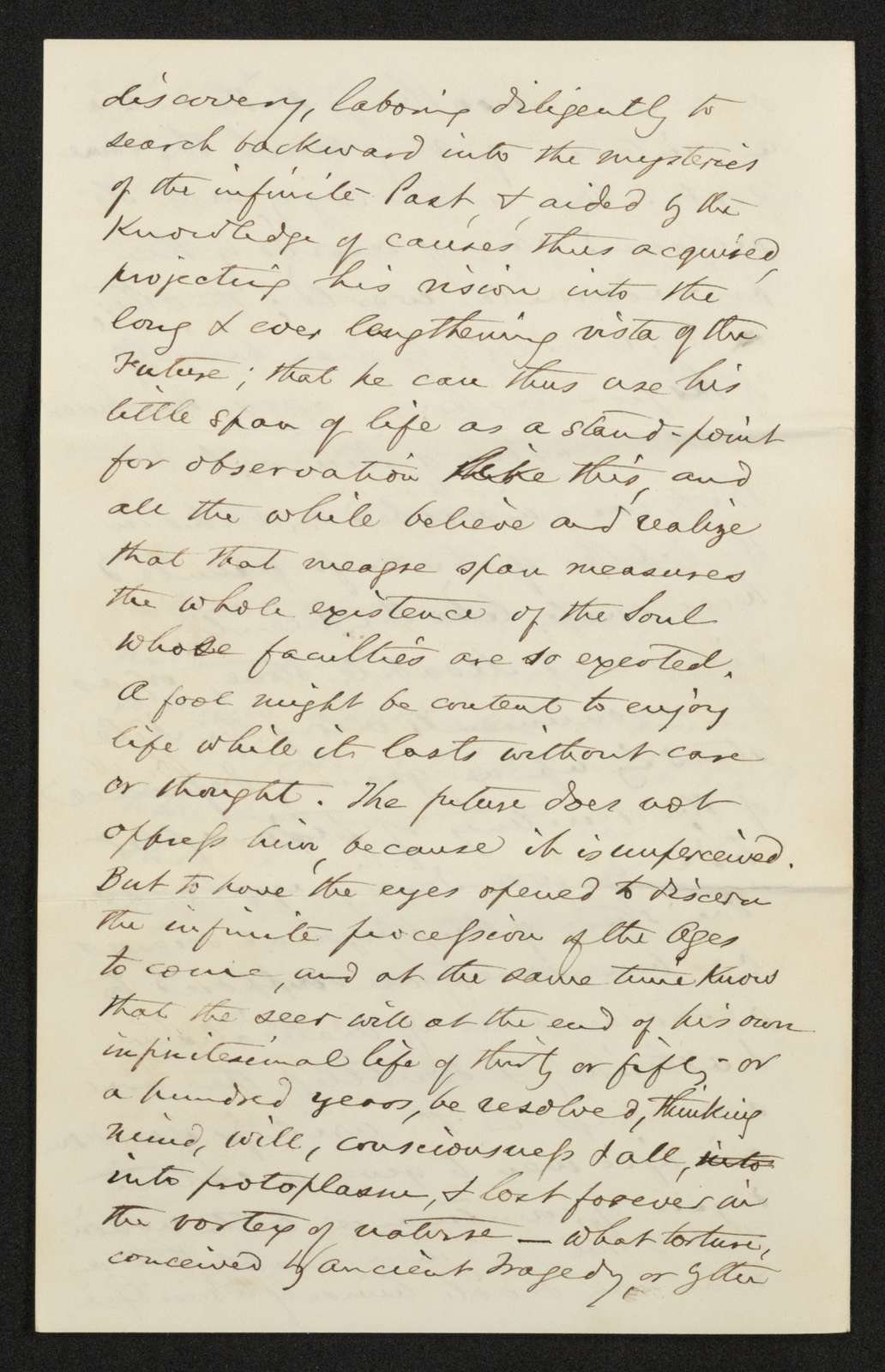 Lewis H. Machen Family Papers: Machen-Gresham Correspondence, 1871-1889; Machen, Arthur W., to Gresham, Minnie; 1871